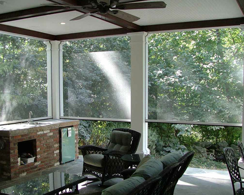 Screen gulf coast retractable screens